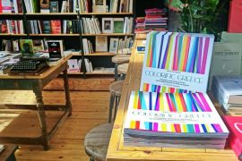 "Colorific Greece at ""Little Tree Coffee & Books"""